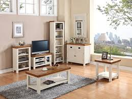 Oak Livingroom Furniture Alba Small Tv Unit Finish White
