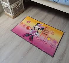 chambre minnie mouse tapis disney minnie onlinemattenshop be