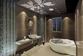Modern Master Bedroom With Bathroom Design Trendecors Royal Master Bathroom Luxury White Luxury Modern Bathroom