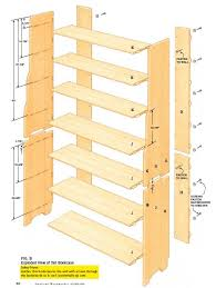 woodworking plans wall bookcase wooden furniture plans
