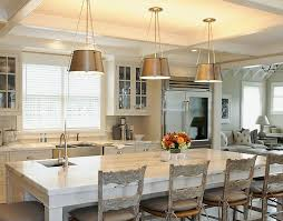Chic Modern French Country Kitchen With Light Gray Painted Cabinets
