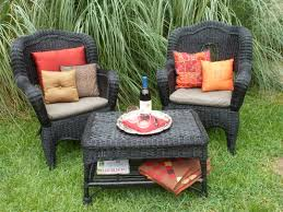 Easy Wicker Furniture Makeover My Big Fat Happy Life