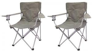 Ozark Trail Quad Folding Camp Chair 2 Pack Only $12.95 ...