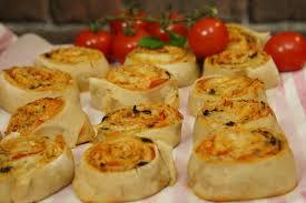 cuisiner facile recette facile des pizza rolls pour l apéritif
