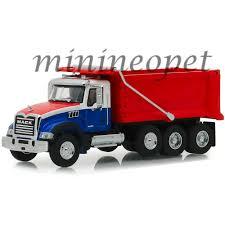100 Blue Dump Truck GREENLIGHT 45060 B SD TRUCKS 2019 MACK GRANITE DUMP TRUCK 164 RED