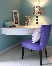 corner built desks for small rooms wood frame cushion seat