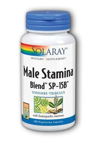 Solaray Male Stamina Blend