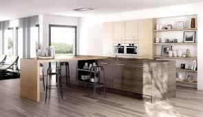 cuisine atypique charmant modele de cuisine avec ilot central 11 cuisine