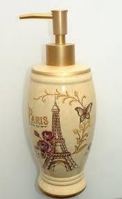 Paris Eiffel Tower Bathroom Accessories by Paris Eiffel Tower Bath Decor Lotion Soap Dispenser Pump Enchanted