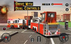 100 Fire Truck Game Driving School 911 Emergency Response Free Download Of