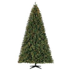Holiday Time Pre Lit 9 Woodlake Spruce Artificial Christmas Tree Clear Lights