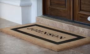 Half f Mats from Personalized Doormats pany