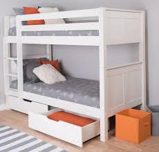 bunk beds metal loft bed with desk full size image stunning ikea