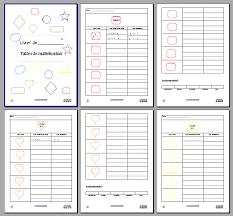 calculer mandala des tables de multiplication document gratuit