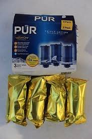 Pur Mineralclear Faucet Refill 6 Pack by New Sealed Pur Mineralclear Faucet 3 Stage Refill Filters 3