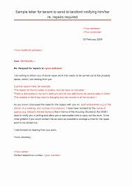 Landlord Letterhead Template Example Letter Rental Notice New