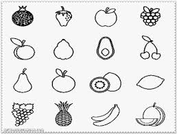 Coloring Pages Fruit And Vegetables