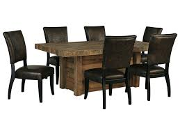Ashley Signature Design Sommerford7 Piece Rectangular Dining Room Table Set