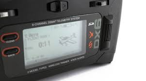 DX6 6 Channel DSMX Transmitter ly Gen 3 Mode 2