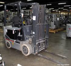 100 Nissan Lift Trucks Used Electric Fork Truck Model CP1B