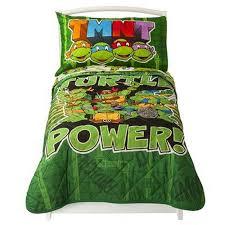 Ninja Turtle Twin Bedding Set by Nickelodeon Teenage Mutant Ninja Turtles Bed Set For Toddlers