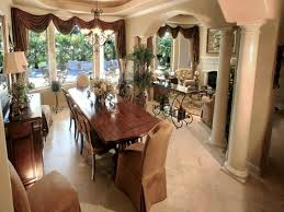Stylist Inspiration Formal Dining Room Curtain Ideas Charming Design Curtains