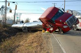 100 Shelton Trucking Tractor Trailer Overturns In Southern Iredell News Statesvillecom