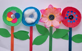 Forget About Fairy Wands This Summer Its All Flower Toddlers Will Love Paper Craft From Belle And Boo It Is Perfect For Little Hands