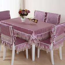 Hot Sale Square Dining Table Cloth Chair Covers Cushion Tables And Chairs Bundle Cover Rustic Lace Set Tablecloths In From Home