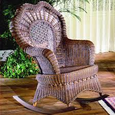 Image Of Rustic Rocking Chairs Rattan