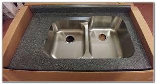 Karran Undermount Bathroom Sinks by Karran Undermount Sink Laminate Countertop Sinks And Faucets