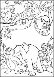Mowgli Jungle Book Coloring Pages For Kids