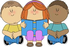 Kids Reading Clip Art Kids Reading Image