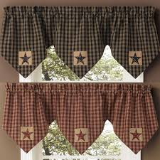 curtains country living room curtains primitive decor cheap