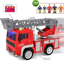 100 Toddler Fire Truck Videos Amazoncom FUNERICA Toy With Lights And Sounds