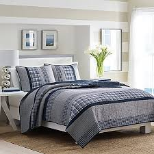 Nautica Adelson Quilt in Navy Bed Bath & Beyond
