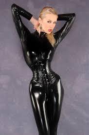 all black latex u0026 more pinterest latex corset and black