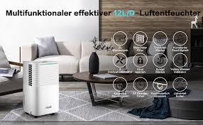 luftentfeuchter pasapair elektrischer luftentfeuchter 12l