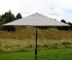 Menards Patio Umbrella Base by Backyard Creations Pacifica Patio Market Umbrella At Menards