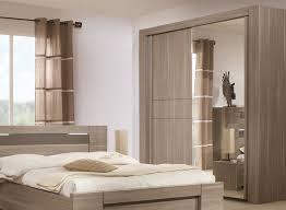 armoire chambre adulte armoire 2 portes coulissantes moka