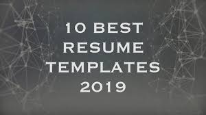 10 Best Resume Templates 2020 – Creative Touchs
