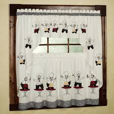 Fat French Chef Kitchen Curtains by Black Curtains Target Home Design Ideas And Pictures Curtains