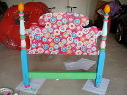 Joss And Main Headboards by Mod Podge And Paint Headboard For Little Girls Room Things I