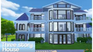 100 Three Story Houses Sims 4 House YouTube