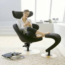 peel lounger chair footrest