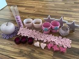 rosa dekoration wohnzimmer ebay