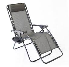 guidesman zero gravity lounge patio chair with removable tray at