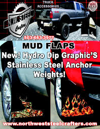 Hydro Graphic Mud Flaps | North West Steel Crafters Cute Lovely Baby Cool Hat Sunglasses On Board Pattern Car Sticker Dodge Ram Accsories Best New 1500 Truck For Sale In Snows Auto Always Cool Rigs And Rides At Egr Fender Flares Running Boards Deflectors Buyers Guide Top 25 Bolton Airaid Air Filters Truckin Are Fiberglass Tonneau Covers Cap World Ford Mustang Parts Interior Toyota Tacoma Steve Landers Nwa Mrtrucks Favorite Truck Trailer Accsories To Safer Easier Camo Luxury Custom Trucks Image
