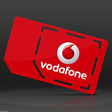 Vodafone 4G Multi SIM Card Pay As You Go For iPhone 4 4S 5 5C