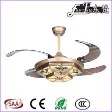 Retractable Blade Ceiling Fan by East Fan 42inch Invisible Ceiling Fan With Light Item Ef42241